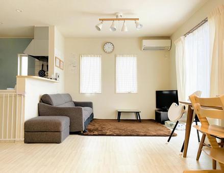 Simple living room