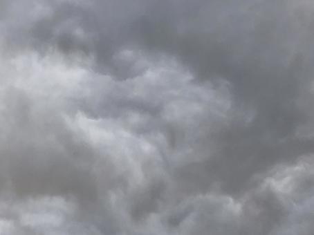 수묵화 구름