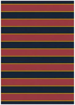 Background Material · Design · Navy Border x Red