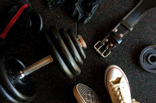 Dumbbells and training belts