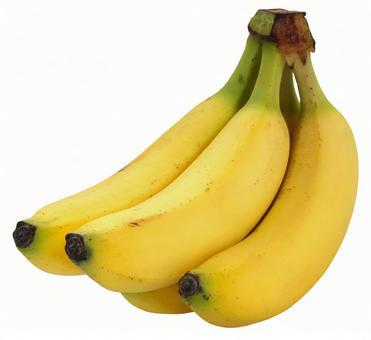 Banana (PSD has transparent background and cutout path)