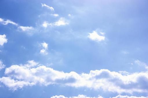구름과 푸른 하늘 18