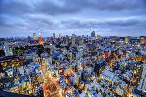Tokyo night view 2