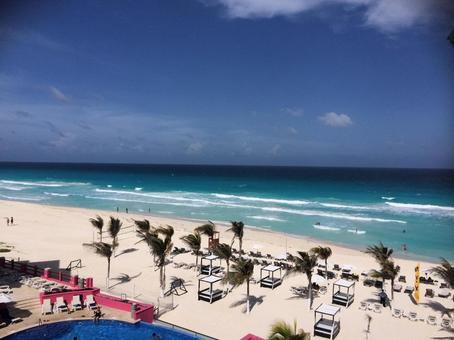 카리브해의 해변