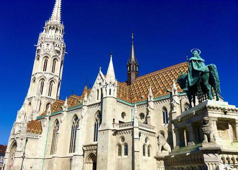 마티아스 교회, 부다페스트, 헝가리.