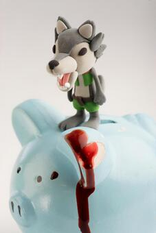 Wolf and pig 22