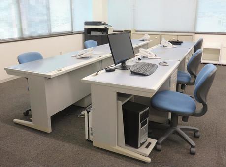 Office desk image