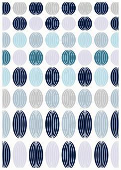 Northern European design blue