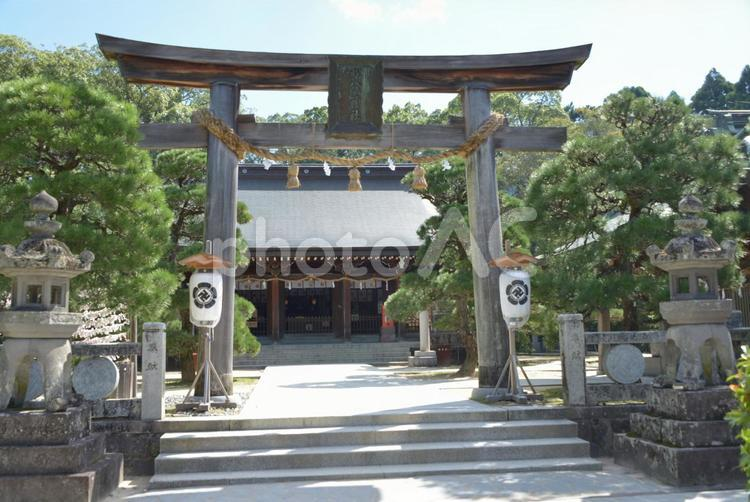 松陰神社の写真
