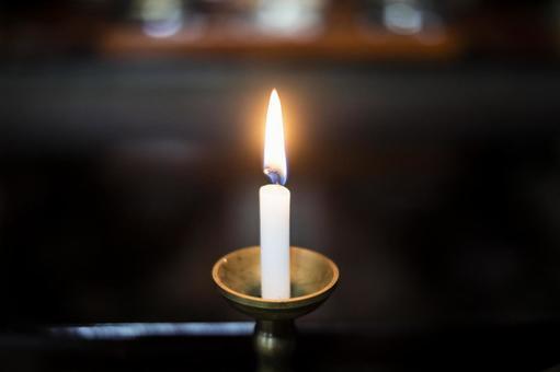 촛불의 불꽃 _ 불전