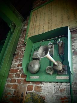 Communication machine of coal mine hoisting chamber