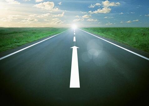 通往成功之路的形象