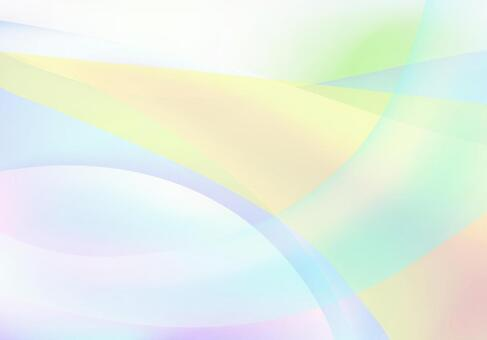 Colorful streamlined abstract background material
