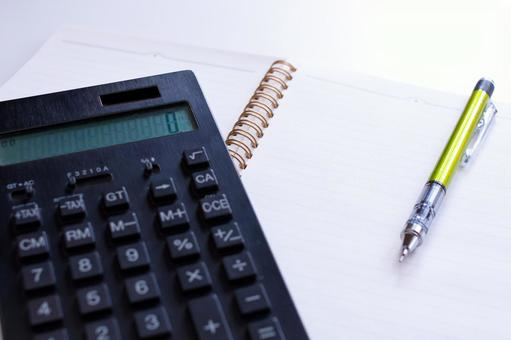 Writing utensils and calculators