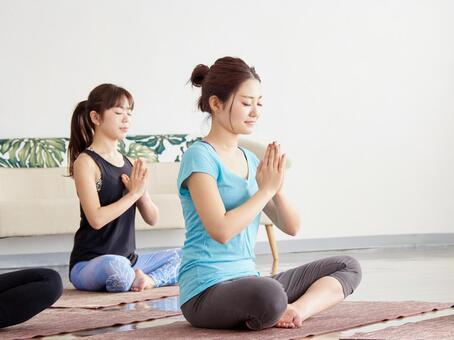 瑜伽學校形象