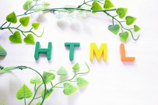 HTML [character material]