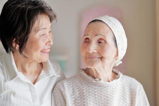 Old Old Care Nursing Mother 11