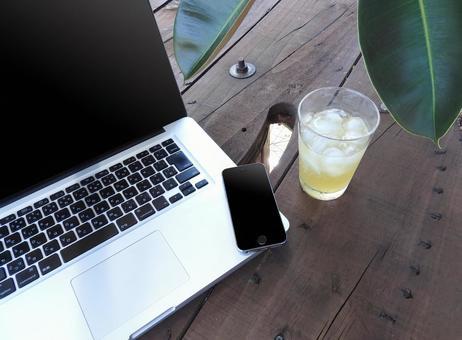 PC smartphone juice