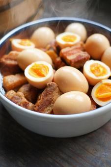 조림과 삶은 계란