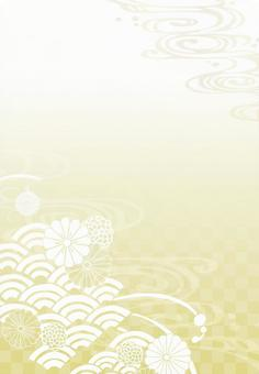 Background (and handle 1 縦 · gold)