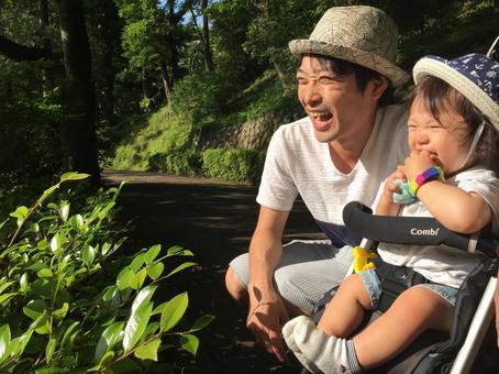 家长和孩子的微笑4