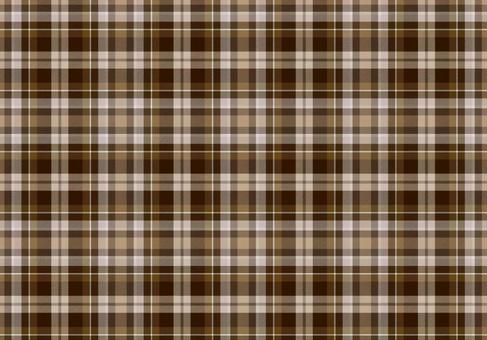 Plaid background brown