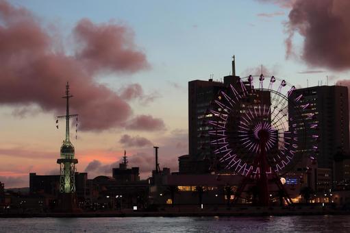 Ferris Wheel 2 at dusk