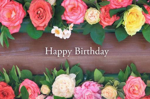 Roses' birthday card 3