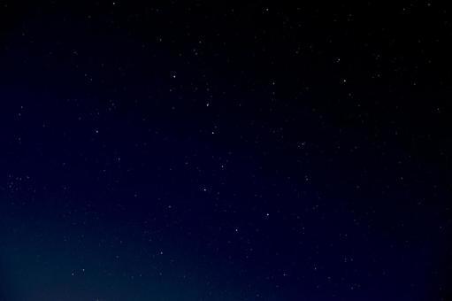 星空與北斗七星 0802