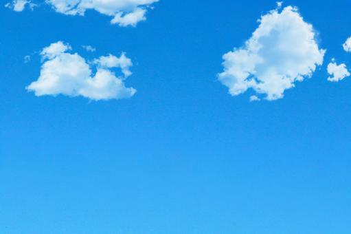 맑게 개인 푸른 하늘 2