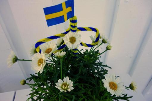 Decoration of summer festival
