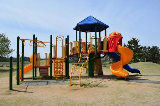 Playground equipment for children's parks