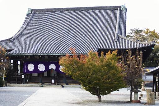 The temple main hall (lecture lecture)