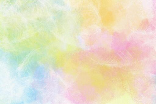 Watercolor painting wallpaper Easy-to-use versatile background Fluffy watercolor pain 01