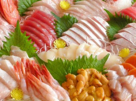 Assorted sashimi sashimi