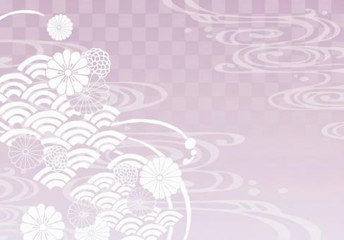 Background (Japanese Pattern 1 · Pink)