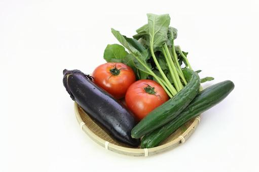 Summer vegetables that entered the monkey 2