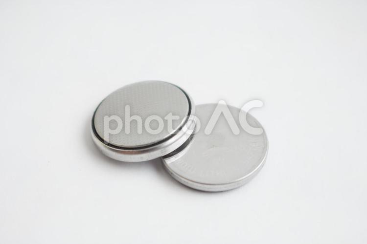 ボタン型電池4の写真