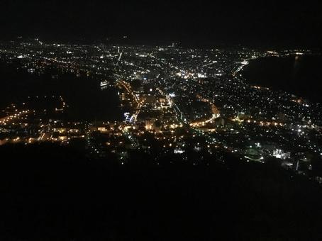 Night view of Hakodate