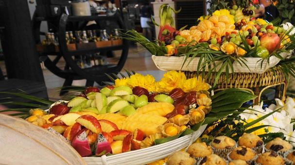 Lots of fruits (Thai Trang Island)