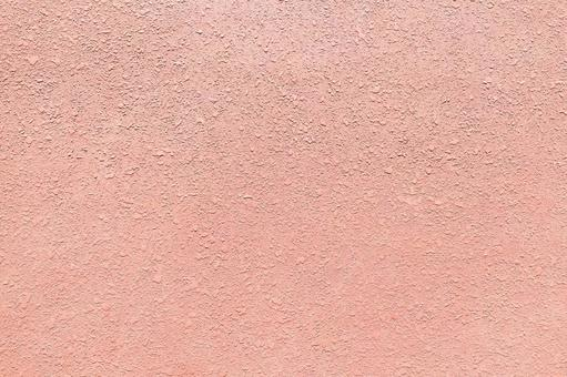 Background texture: exterior wall plaster wall pink