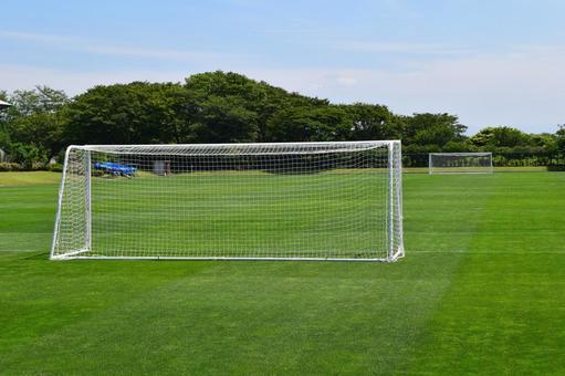 Soccer field goal net