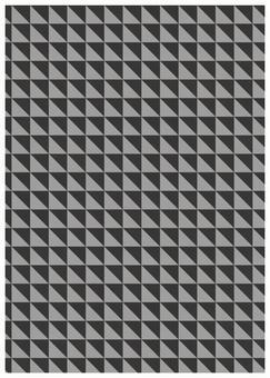 Geometric texture small triangle