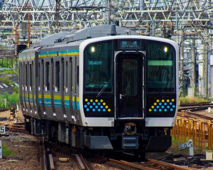 Return 9546M ~ 9357M E131 series 0 Bantai Chuo Line performance confirmation test run, return return (Toyota-Makuhari)