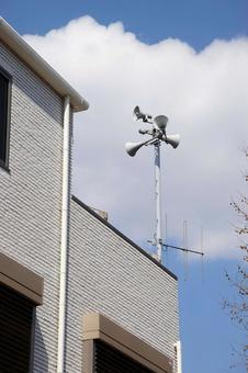 Disaster prevention wireless speaker