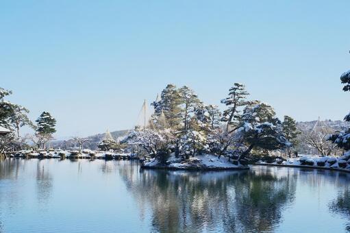 Winter Kenrokuen