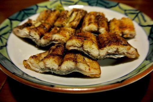 白烤鰻魚鰻魚