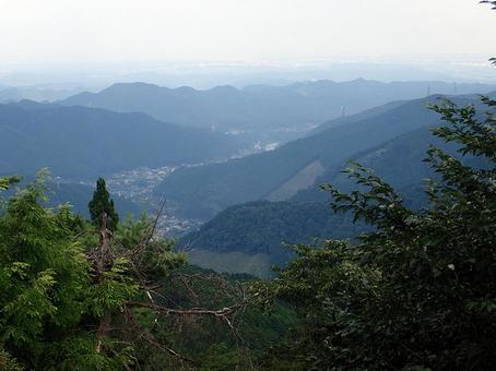 계곡의 풍경