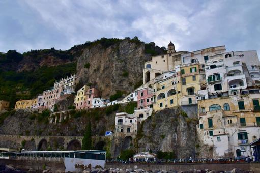 이탈리아 아말피의 거리 2