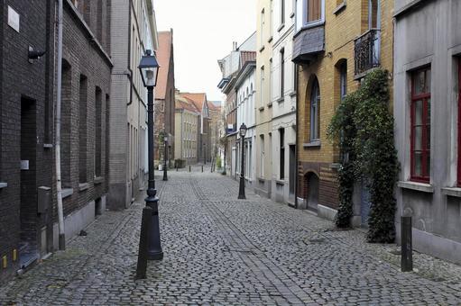 Foreign landscape Belgian Ghent
